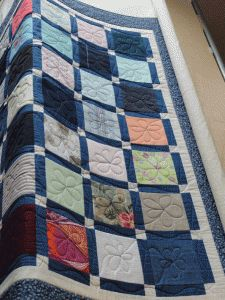 Front of quilt
