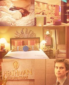 Fifty Shades of Ana & Christian: orange.  The Heathman Hotel.