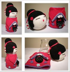Small Things of Crochet: Kokeshi