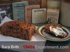 """Wartime Bara Brith - I love the word """"Bara Brith"""". During my years of living in Wales, the language and the Welsh accent rapidly became one of my favourites in the whole wide world. It's a very musical language and I d..."""