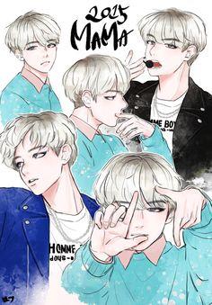 Baekhyun cr.@Maango_