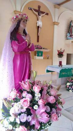 St. Philomena image in Sinaloa, México