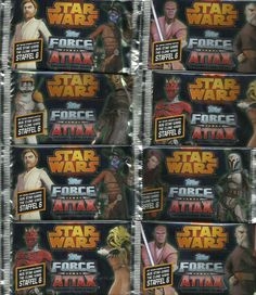 STAR WARS  Force Attax  Trading Card  The Clone Wars Staffel 6  Nr. 61 - Nr. 120
