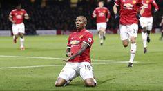 Young's beautiful brace leads Man Utd