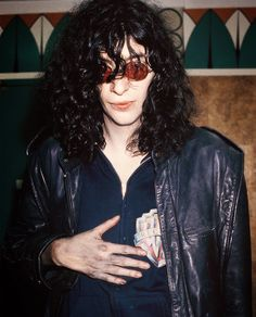 Joey Ramone scares me so much but anyway I love him