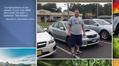 Dear Brandon Ebbeka   A heartfelt thank you for the purchase of your new Subaru from all of us at Premier Subaru.   We're proud to have you as part of the Subaru Family.