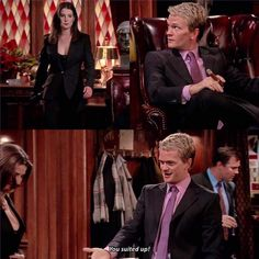 How I Met Your Mother, Series Movies, Tv Series, I Meet You, Told You So, Himym Memes, Barney And Robin, Tv Land, Big Bang Theory