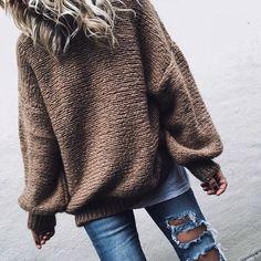 huge sweater love..🐻