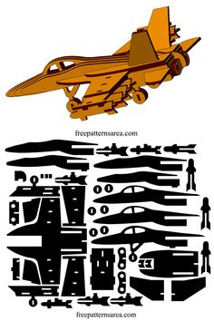 Dxf plan cut files that can be used laser cut toy puzzle or mdf model plane. Laser Cutter Ideas, Laser Cutter Projects, Cnc Projects, Cnc Laser, Laser Cut Wood, Laser Art, Woodworking Jigs, Woodworking Projects, 3d Cuts