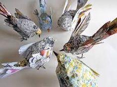 """Résultat de recherche d'images pour """"oiseau en papier maché"""""""