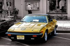 Triump - British car show in Ocean Grove, NJ