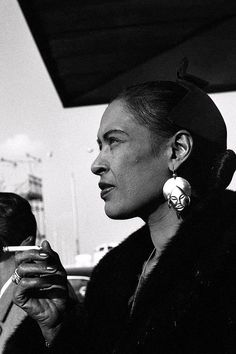 Billie Holiday, Paris, 1958. Photo by Jean Pierre Leloir