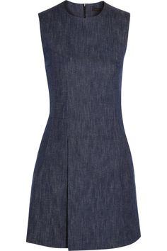 Victoria Beckham Denim Denim mini dress NET-A-PORTER.COM