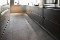 Keukentegels | Voordelig bij Tegels.com Tile Floor, Gamma, Kitchen Cabinets, Flooring, Home Decor, Decoration Home, Room Decor, Cabinets, Tile Flooring