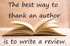 Blogging reviews is a great way to share the love of your books