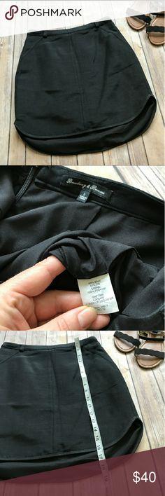 Madewell Broadway & Broome Skirt Cute, simple black skirt. Great condition Madewell Skirts Mini