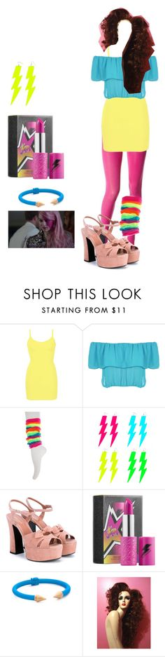 """""""Untitled #377"""" by whoaitsgabi ❤ liked on Polyvore featuring Betsey Johnson, BKE core, WearAll, JEM, Yves Saint Laurent and Sephora Collection"""
