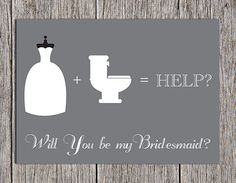 Will You be My Bridesmaid - Bridesmaid Invitation - Printable Invitation - 5x7 Invitation - Wedding Printable - Instant Download on Etsy, $5.00