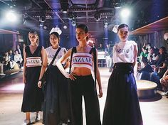 Giving new meaning to styling up a t-shirt: cropped belted - what's the limit? #BAZAARFashionParty #BAZAAR150  via HARPER'S BAZAAR MALAYSIA MAGAZINE OFFICIAL INSTAGRAM - Fashion Campaigns  Haute Couture  Advertising  Editorial Photography  Magazine Cover Designs  Supermodels  Runway Models