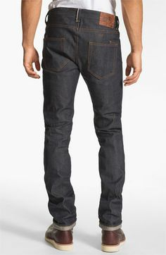 PRPS 'Rambler' Slim Fit Selvedge Jeans (Raw) available at #Nordstrom