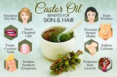 Benefits of #Castor Oil for Skin and Hair