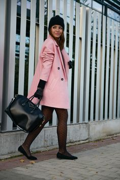 the pink coat - Lovely Pepa by Alexandra