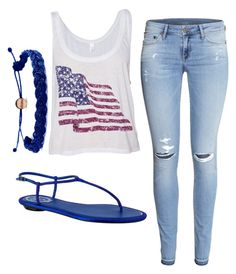 """""""Forth of July outfit"""" by taylordolejsi ❤ liked on Polyvore"""