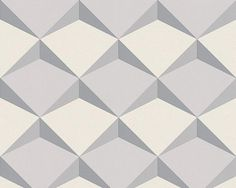 Geometric Diamond by Albany - Grey : Wallpaper Direct Wallpaper Sydney, Power Wallpaper, Grey Wallpaper, Pattern Wallpaper, Wallpaper Ideas, Geometric Diamond Wallpaper, Inspirational Wallpapers, Floor Patterns