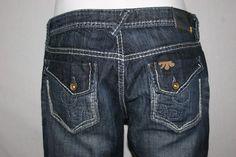 Mek Denim Khora Capri Cropped Jeans Pants Womens SZ 29 #MekDenim #CaprisCropped