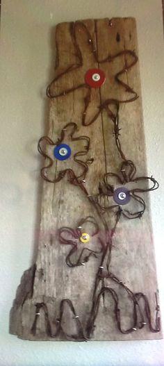 Wire Art Flowers