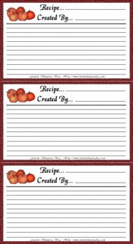 Free printable recipe cards. | Bridal Shower Ideas | Pinterest ...