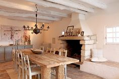 french rustic stone   French Provencal style with a blend of rustic and minimalist detail ...