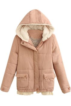 Equipped with virtually all you'd need- elastic hem, zip snap-button front and lace paneled. Raincoat, Winter Jackets, Lace, Coats, Zip, Shopping, Button, Design, Women