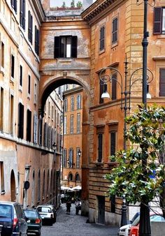 Narrow Street in Rome / by Marion McCristall