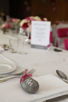 Pebble Wedding Place Names / Favours