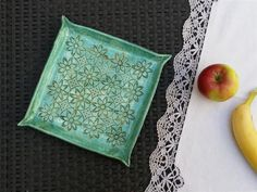 green bronze ceramic tray ceramic platter appetizer by ceralonata