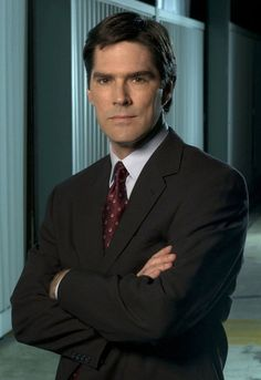 Thomas Gibson- Aaron Hotchner serious but very awesome like the dad of the team =)