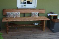 Gartenbank von Scheunenkunst auf DaWanda.com