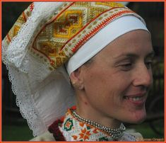 Hello all, Today I will talk about one of the most colorfully embroidered costumes of Slovakia, That of the village of Čičmany and v. Costumes, Embroidery, History, Inspiration, German, Patches, Europe, Polish, Fashion