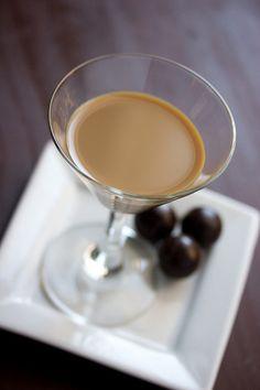 Caramel Apple Bon Bon : Shake with ice 1oz caramel vodka, 1oz Dr McGillicuddys Apple Pie schnapps (or a caramel apple liqueur), 1oz Godiva chocolate liqueur, 1oz Baileys. Strain into glass. -- [OO]