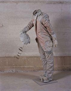 Spanish sculptor Juan Muñoz