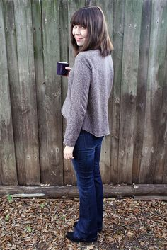 Dixie DIY - Hot Coca Sweater - Free PDF Pattern (small fit but can be resized to fit)
