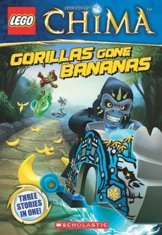 LEGO Legends of Chima: Gorillas Gone Bananas (Chapter Book #3) | Your #1 Source for Toys and Games