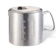 The SOLO STOVE Pot 900, stainless steel camp cooking pot designed for use with SOLO STOVE