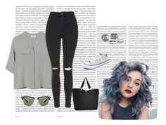 """Untitled #199"" by mariacostaaa ❤ liked on Polyvore featuring Oris, PYRUS, Topshop, Converse, Reisenthel and Ray-Ban"