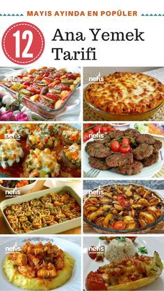 Mayıs Ayında En Sevilen 12 Ana Yemek Tarifi – Nefis Yemek Tarifleri – Vegan yemek tarifleri – Las recetas más prácticas y fáciles Kebab Recipes, Yummy Recipes, Soup Recipes, Cooking Recipes, Iftar, Guisado, Good Food, Yummy Food, Middle Eastern Recipes