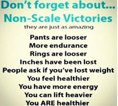 don't forget about the non-scale victories!