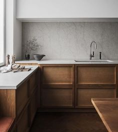 Simple and Modern Ideas Can Change Your Life: Natural Home Decor Ideas Pictures natural home decor living room woods.Natural Home Decor House natural home decor living room floors.Natural Home Decor Modern Design. Interior Minimalista, New Kitchen, Kitchen Dining, Kitchen Decor, Kitchen Ideas, Rustic Kitchen, Timber Kitchen, Warm Kitchen, Kitchen Cupboards