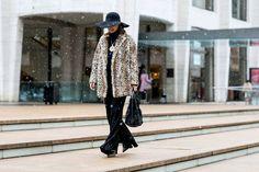Snowy Leopard