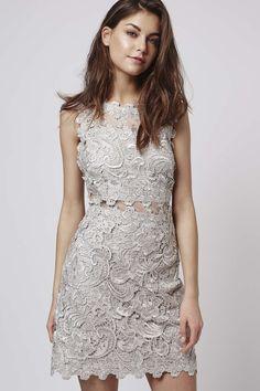 TALL Lace Skater Dress